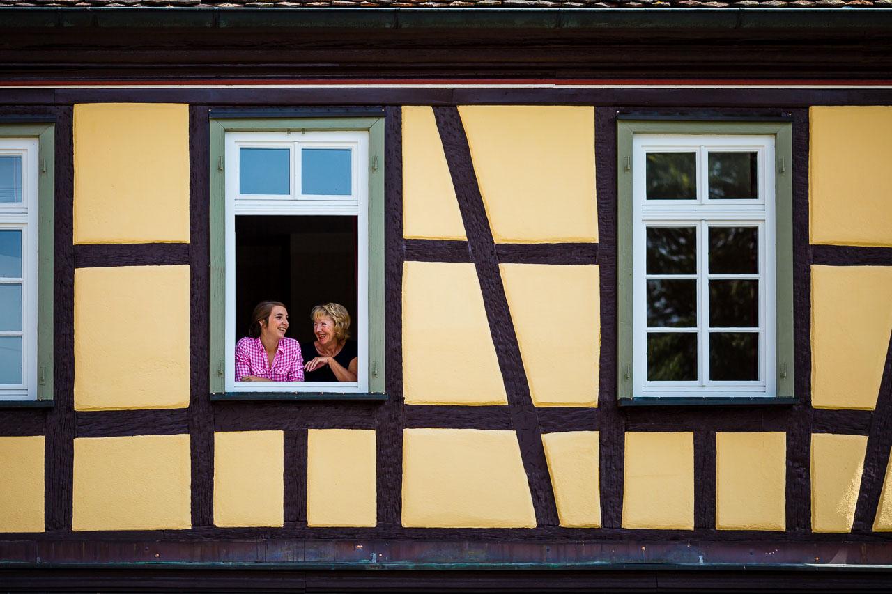 Braut Kutscherhaus Schloss Langenburg Hochzeitsfotograf