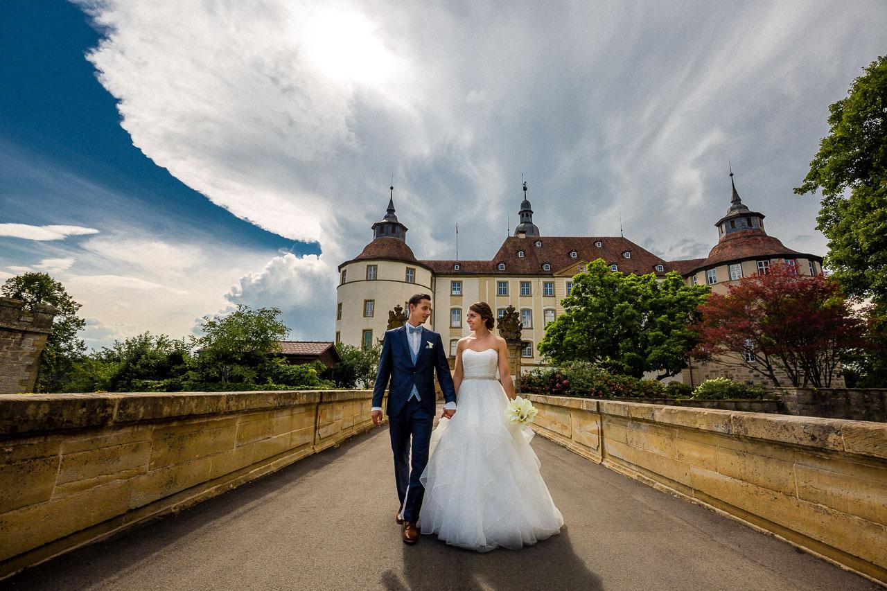 Hochzeitspaar Hochzeit Schloss Langenburg